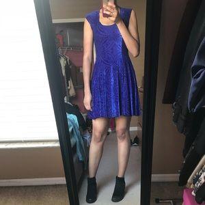 Blurple Dresses